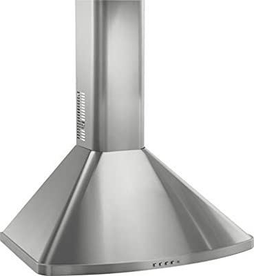 Frigidaire FXWC51EC Wall Mounted Range Hood Stainless Steel Flue Extension for 10-Foot Ceilings