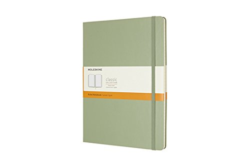 Moleskine Classic Notebook XL Ruled Willow Green Hardcover (8055002855143)