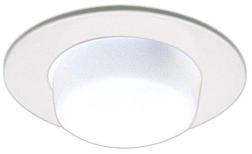 "- Elco Lighting EL916W 4"" Shower Trim with Drop Opal Lens - EL916"
