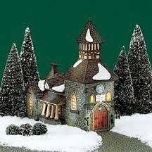 Dickens' Village Series The Olde Camden Town Church Camden Series