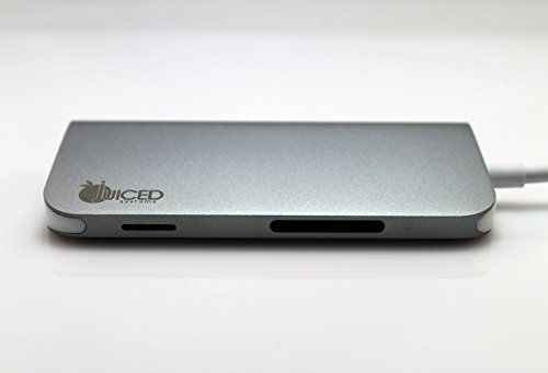 Juiced Systems BizHUB USB-C Multiport Gigabit HDMI Hub, 3x USB 3.0 Ports, Gigabit Ethernet, HDMI 4K, SD/Micro SD, USB-C Power Delivery by Juiced Systems (Image #2)