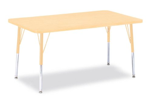 Berries Prism Maple Rectangle Activity Table
