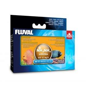 Hagen Fluval Ammonia Test Kit for Fresh & Saltwater (Includes 50 Tests) by Hagen
