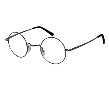 5746d3ecf8 Image Unavailable. Image not available for. Color  Ebe Bifocal Reading Glasses  Men Women Silver Round Horned Rim ...