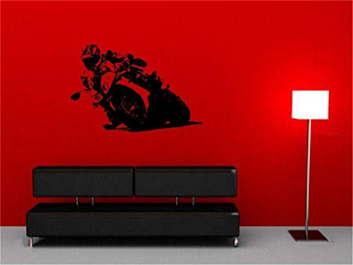 Mabuquo Quotes Vinyl Wall Art Decals Saying Words Removable Lettering Superbike for Living Room