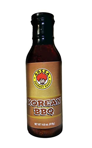 Korean BBQ Sauce - Cooking or Marinade - Goes Great on Chicken, Ribs, Shrimp & More - Any Kind of Meat Really (1 Bottle) (No High Fructose Corn Syrup) (Best Ever Teriyaki Sauce Recipe)