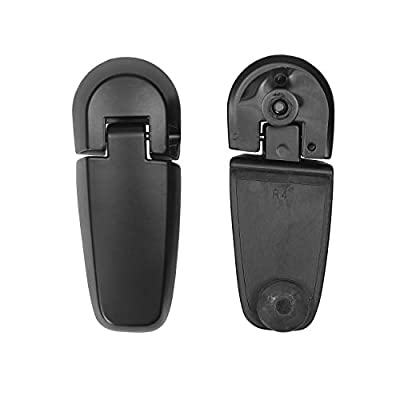 Rear Window Hinge Set Liftgate Glass Hinge Right & Left | for 2006-2010 Ford Explorer, Mercury Mountaineer | Replaces# 6L2Z-78420A68-A, 6L2Z-78420A69-AA: Automotive