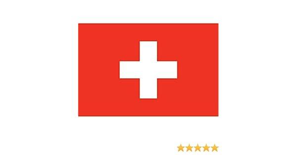 Bandera Banderín Bandera Suiza Luxe: Amazon.es: Coche y moto