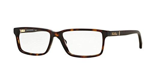Brooks Brothers Eyeglass Frames - Brooks Brothers BB2029 Eyeglass Frames 6096-55 - Dark Tortoise/matte Dark Tort