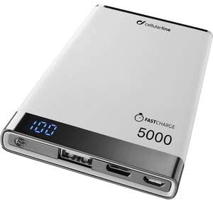 cellularline FreePower Manta S 5000 batería Externa Blanco ...