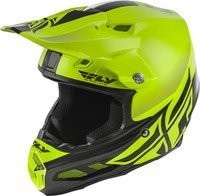 FLY RACING F2 CARBON MIPS SHIELD HELMET HI-VIS/BLACK XL