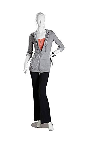 Female White Cameo Fiberglass Mannequin - Size 4 Height 5'10