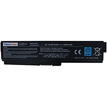 Toshiba PA3819U-1BRS Laptop Battery for Satellite A665-S6050 and more - New TechFuel Professional 12-cell, Li-ion Battery