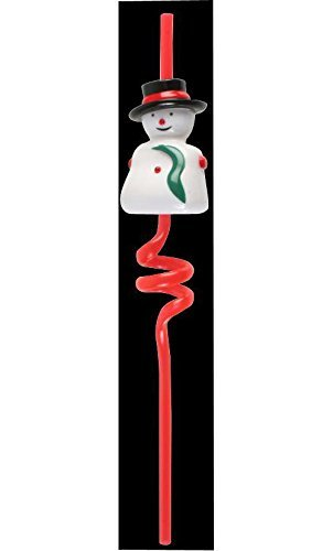 Musical Straw Xmas Decoration Christmas Display Novelty Toy by Festive Fun