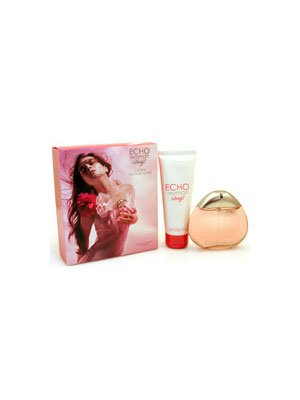 Davidoff Echo Woman EDP Spray 1.7fl.oz./50ml and Light Body Cream 2.5fl.oz.