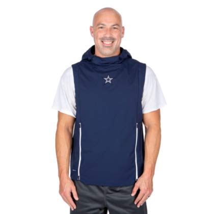 online store 55598 7b67d Amazon.com : Dallas Cowboys Nike Fly Rush Vest : Clothing