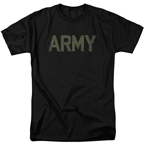 (U.S. Army Faded Night Vision T Shirt & Exclusive Stickers (Large))