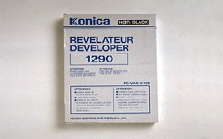 Konica 946182 Copier Developer (10LB Bag 15000 Page Yield), Works for 1290, 1290RE, 2012, 2012RE