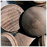 WIDGETCO 1'' Walnut Button Top Wood Plugs