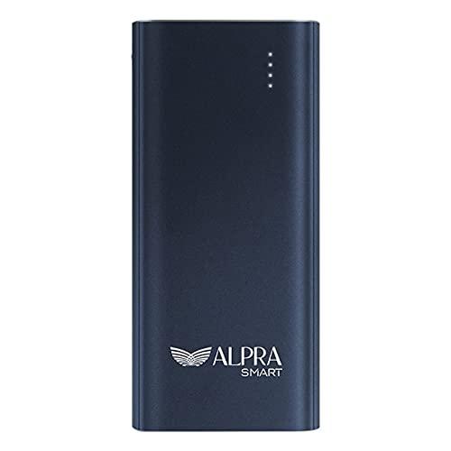 ALPRA SMART  10000 mAh Li  Polymer Power Bank, 18W Fast Charging  ALPRA Fast 10   Navy Blue