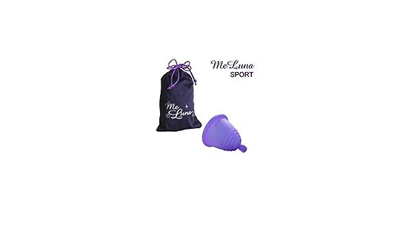 MeLuna Copa menstrual MeLuna Shorty Violeta, Sport, Bola ...