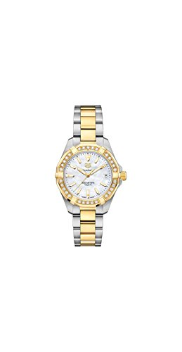 Tag Heuer Aquaracer Mother of Pearl Dial Ladies Diamond Watch WBD1321.BB0320