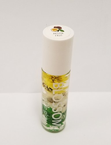 (Blossom - Scented LIP GLOSS - Infused with real Flowers (Passion Fruit))