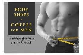 3 Pack Body Shape Coffee 0 calories pour les hommes de café instantané bon pour la perte de poids