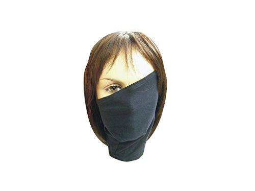 Mtxc Naruto Cosplay Accessories Hatake Kakashi Mask Black - Kakashi Hatake Mask