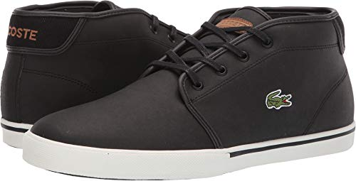 Lacoste Men's Ampthill 119 1 CMA Black/Light Brown 9.5 M US