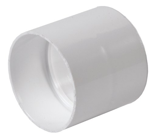 - NDS 3P05 Sewer Drain Coupling, PVC, 3-Inch