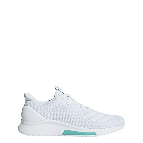 detailed look f1975 b8afb adidas Women s Puremotion Running Shoe, White White Hi-Res Aqua, 9.5