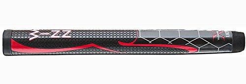 Winn Pro X 1.18-Inch Putter Grip, Black/Red by Winn