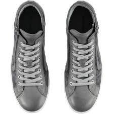 Descuento Comercial Nero Giardini Scarpe a Collo Alto Uomo Sneakers Pelle e camoscio Grigio P704961U-214 La Libre Elección De Envío Outlet De Venta Barata Descuento Oficial 5fnQ7