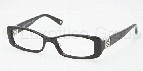 Coach HC 6006B Eyeglasses 5002 Black Demo Lens 51-16-135