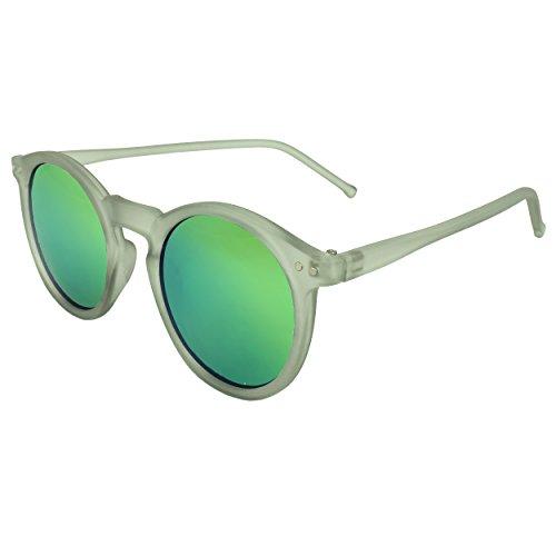 MLC EYEWEAR ® Iridescent Round Fashion Sunglasses in Grey - Jacobs Sunglasses Michael
