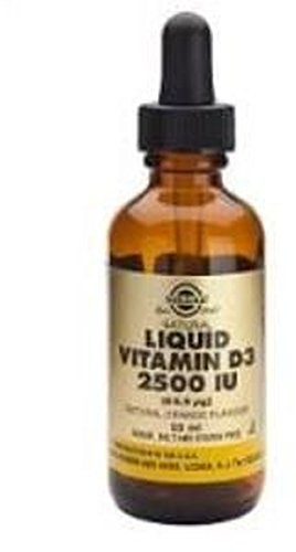 Vitamina D3 Líquida 2500 Ui 59 ml de Solgar: Amazon.es: Salud y cuidado personal