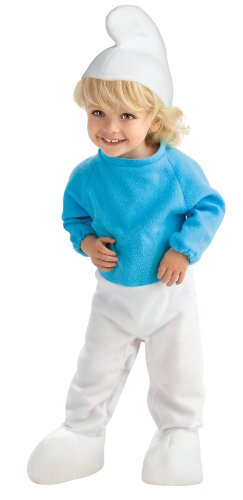 Smurfs Costume For Toddlers (Smurf Baby Infant Costume -)