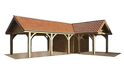 Carport Plans DIY Outdoor Canopy Car Shelter Gazebo Garage 12'x20' Build Your Own