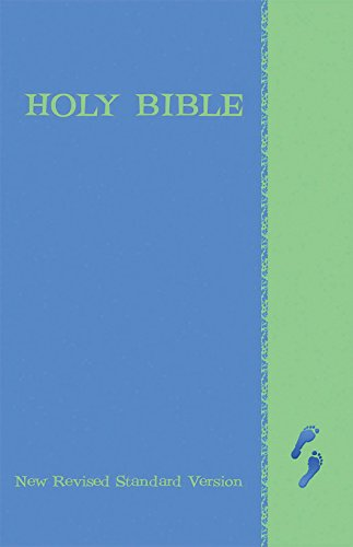 New Revised Standard Version Children's Bible-  NRSV Blue/Green Cover