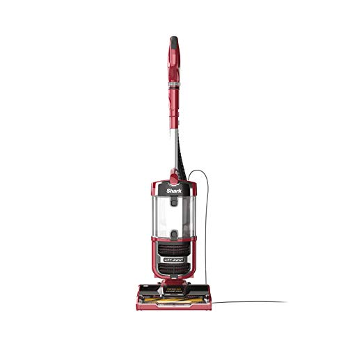 (Shark Navigator Upright Vacuum with Lift-Away, Zero-M Anti-Hair Wrap Technology, Anti-Allergen + HEPA Filter and Swivel Steering (ZU561), Red Peony)