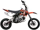 Red DIRT BIKE COOLSTER 125CC ENGINE KLX STYLE DB214FC