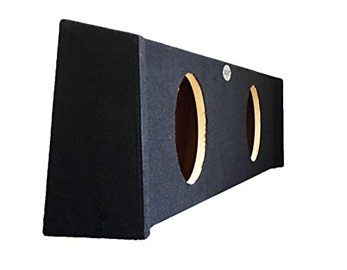 SoundBox F150 Super Crew (Crew Cab) Double 12'' Subwoofer Enclosure 2009-2018 (Ford Double Cab)