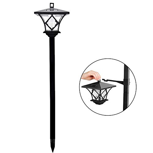 Top 10 recommendation solar garden lights 1.5m hanging lamp for 2019