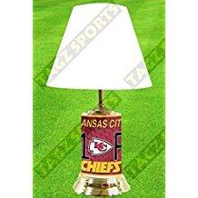 - Kansas City Chiefs, Home decor Lamp, with #1 Fan wrap around design.