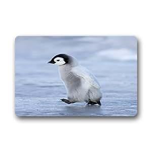 """Custom Penguin Doormat Outdoor Indoor 23.6""""x15.7"""" about 59.9cmx39.8cm"""