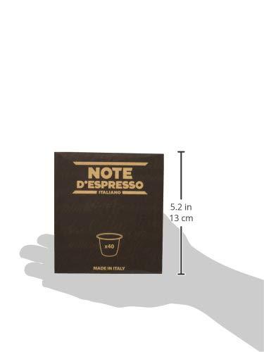 Note D'Espresso Preparato Solubile per Bevanda al Gusto di Orzo - 108 g (40 x 2.7 g) Esclusivamente Compatibili con le… 6 spesavip