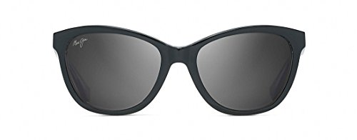 Maui Jim Women's Canna Black/Crystal/Neutral Grey - Jim Maui Cat Maui