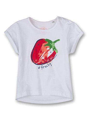 Sanetta Baby - Mädchen T-Shirt 113609, Gr. 86, Weiß (white 10)