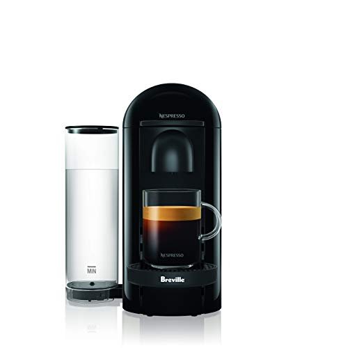 Breville BNV420IBL1BUC1 Nespresso VertuoPlus Solo Ink Black single-serve, capsule espresso maker